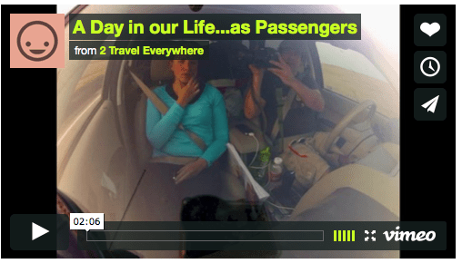 A Day In Our Life….As Passengers