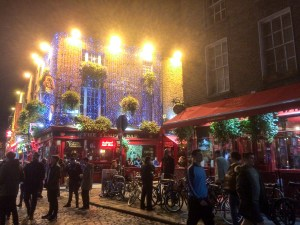 Temple Bar - downtown Dublin