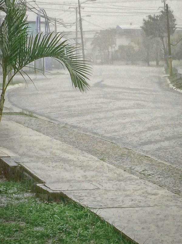 Rain in the Streets of San Jose