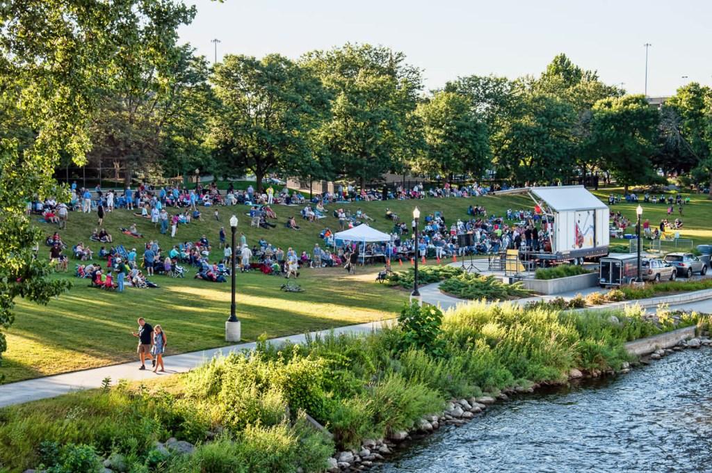 Jazz in the Park summer concert