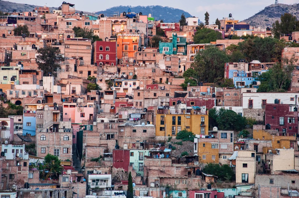 Across the Valley - Colorful Houses of Guanajuato
