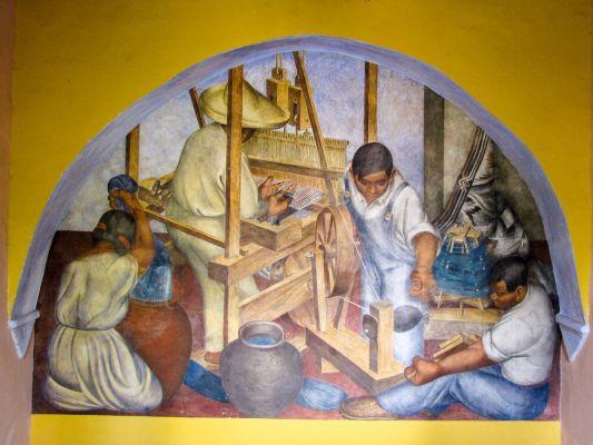 Bellas Artes mural