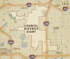 8th District map (photo: BernardParks.com)