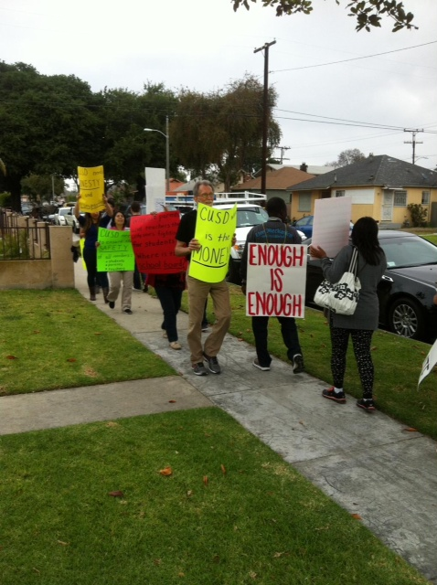(photo courtesy of Compton Governing Board Member Skyy Fisher's twitter page)