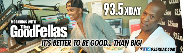 KDAY_93.5 FM Mornings with Tha' Goodfellas