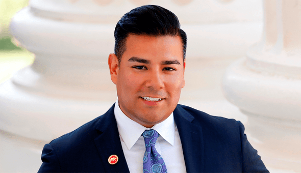 "State Senator Ricardo Lara ""Isadore Hall is passionate about standing up for the most vulnerable in our society, and for those without a voice."""