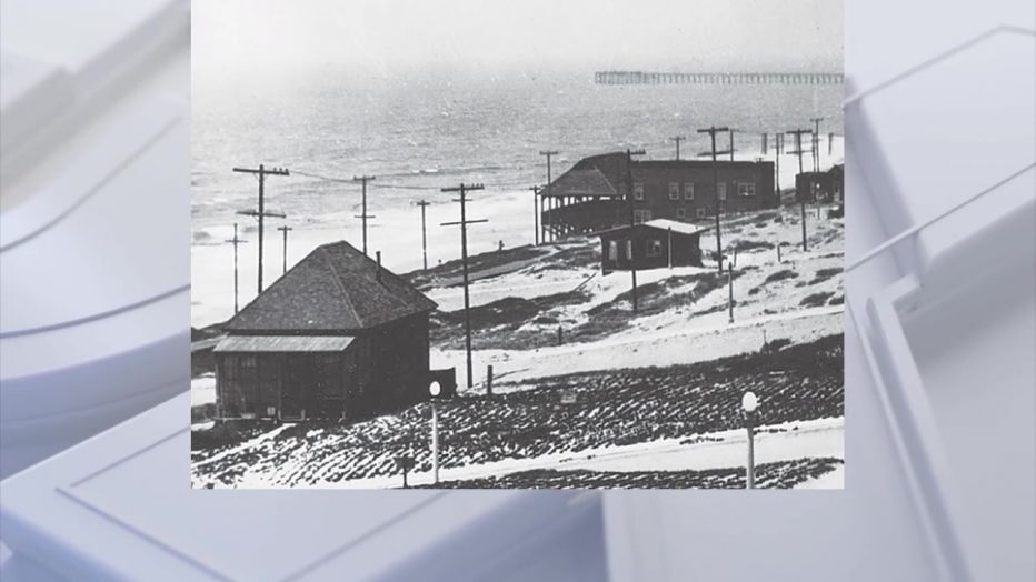 Bruce's Beach (Bruce's Beach, circa 1912. Photo courtesy the Manhattan Beach Historical Society)