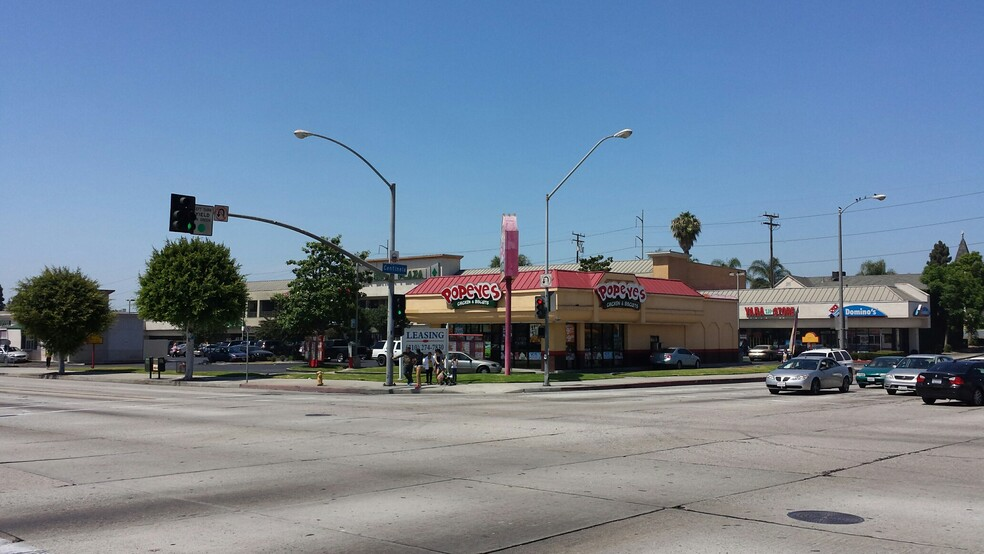 Intersection of Centinela and LaBrea.