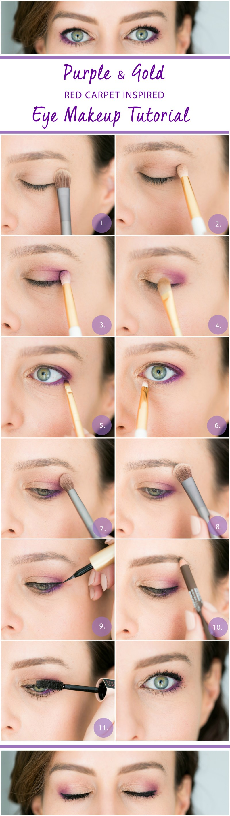 Gold Purple Eye Tutorial How To Get