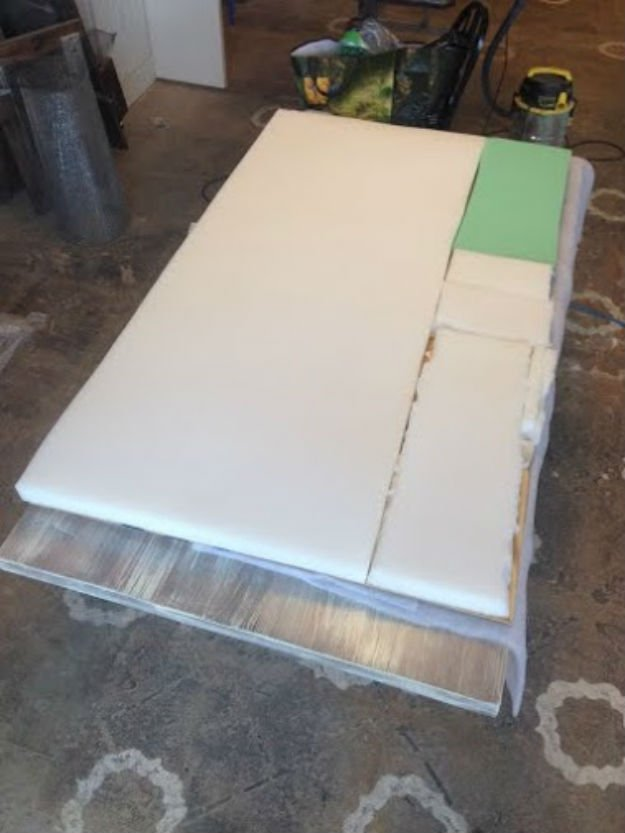 How To Build A DIY Upholstered Headboard DIY Tutorial