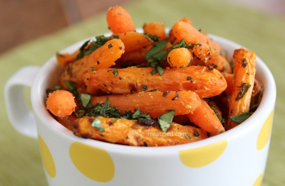 Sage & Citrus Roasted Carrots