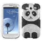 Samsung Galaxy S3 MyBat Panda Bling Case