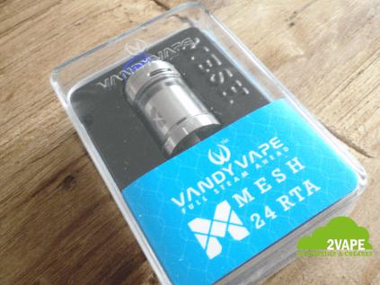 Vandy Vape Mesh 24 RTA verpakking
