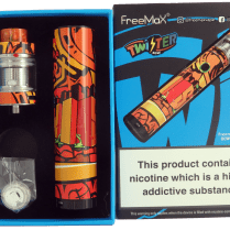 Unboxing FreeMax Twister kit