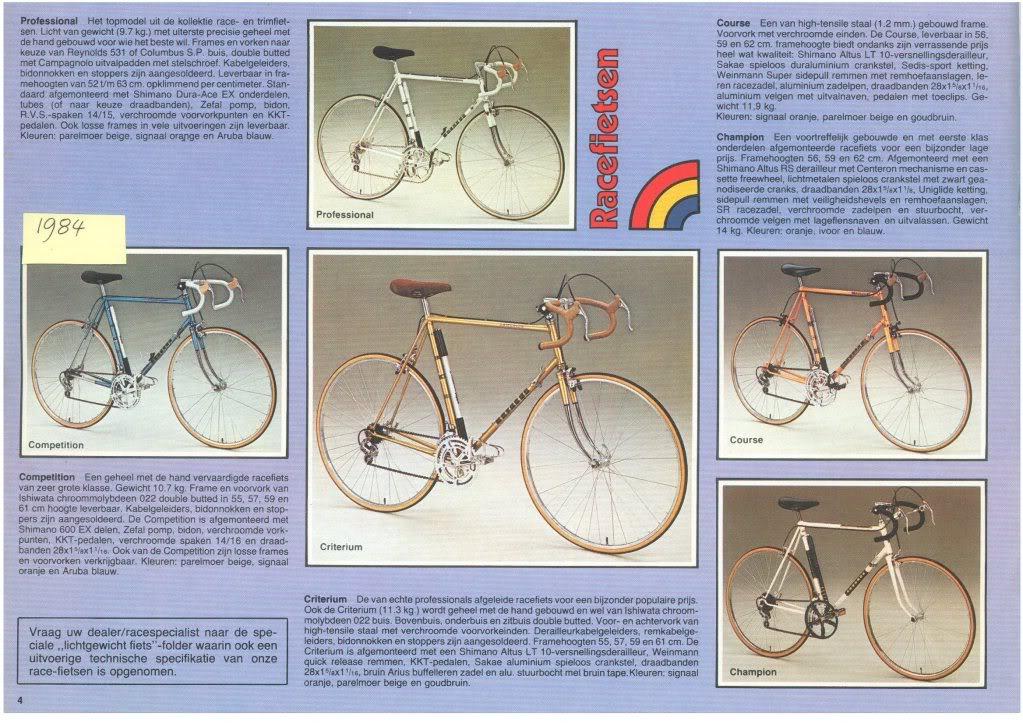 Onwijs Batavus bicycle catalogs - SR-91
