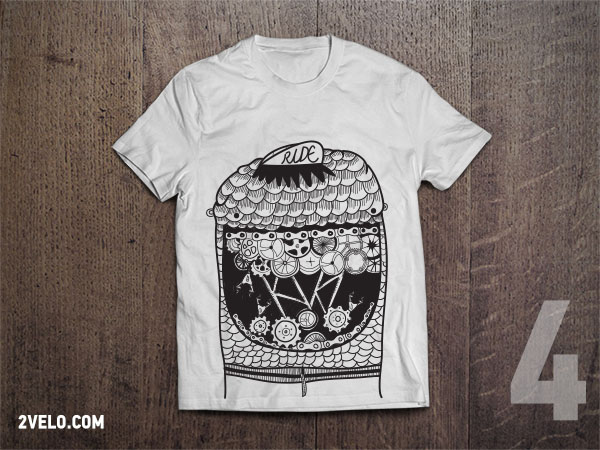 T-Shirt 2velo 4