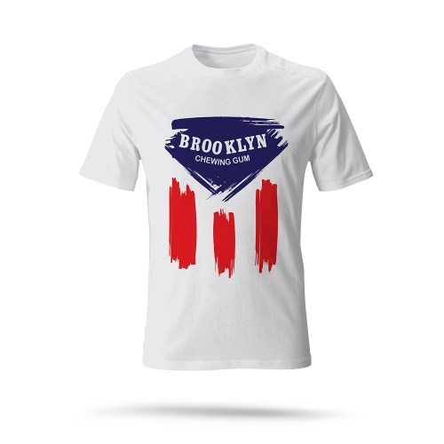 Brooklyn cotton t shirt - cycling team - 2velo