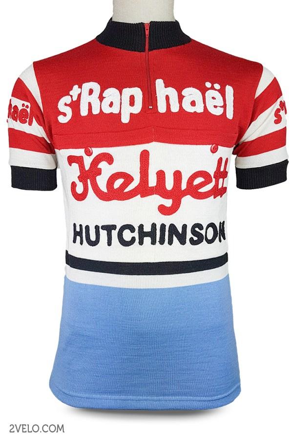 St Raphael Helyett Hutchinson vintage retro cycling, maglia ciclismo 2velo