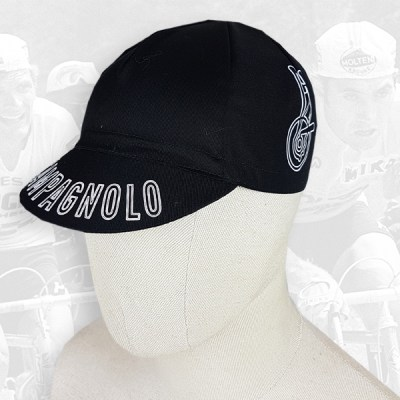 Campagnolo black cycling cotton cap 2VELO