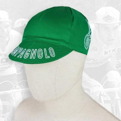Campagnolo green cycling cotton cap 2VELO
