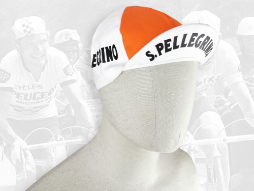 S Pellegrino cycling cotton cap 2VELO