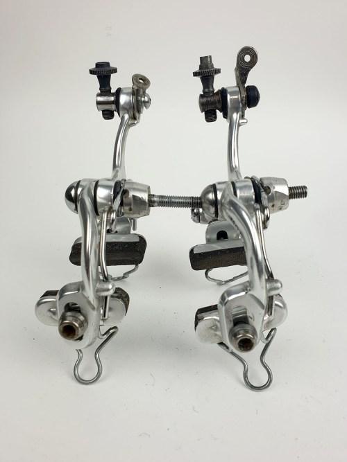 Modolo Speedy Brakes (Front & Rear) 1980s Italian Silver