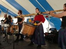 Albannach, great Scottish band