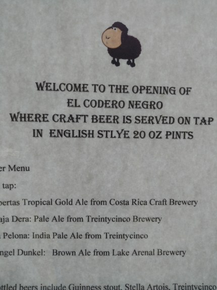 the El Codero Negro, or the Clandestine Pub