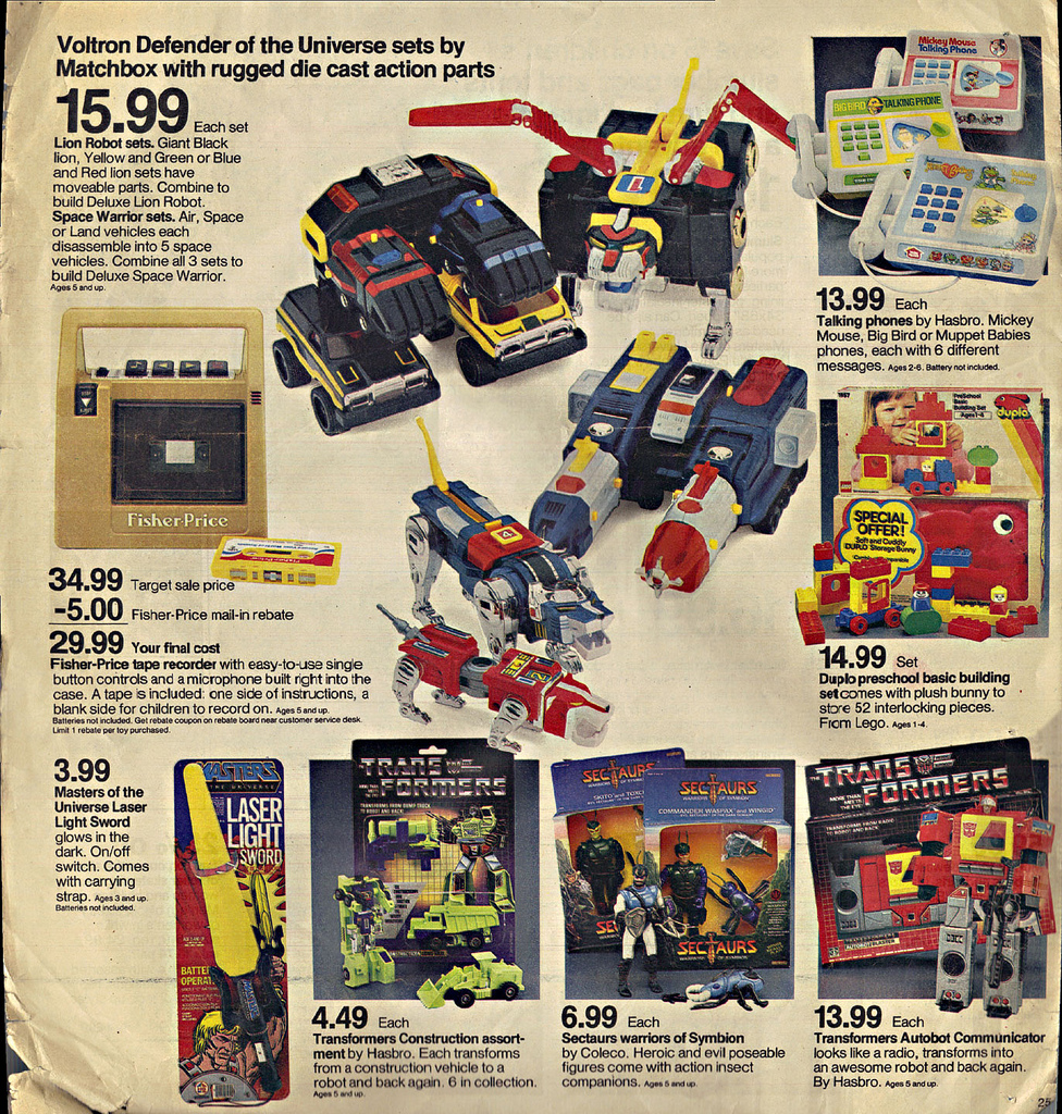 Target Toy Ads 19851986 2 Warps To Neptune