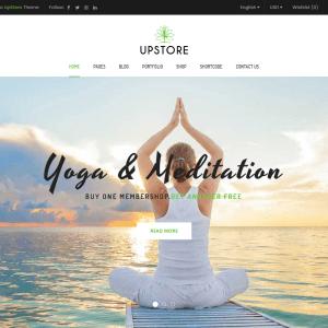 Сайт йога и фитнес