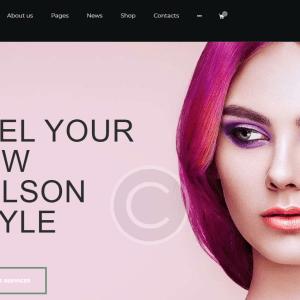 Готовый сайт для парикмахерской