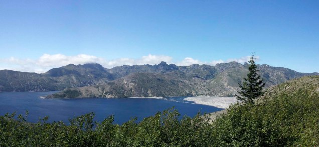 Spririt Lake with Mount Margret backcountry.