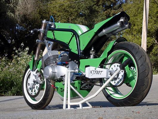 Jaybuilt XJ500T Kawasaki Bellytank Triple