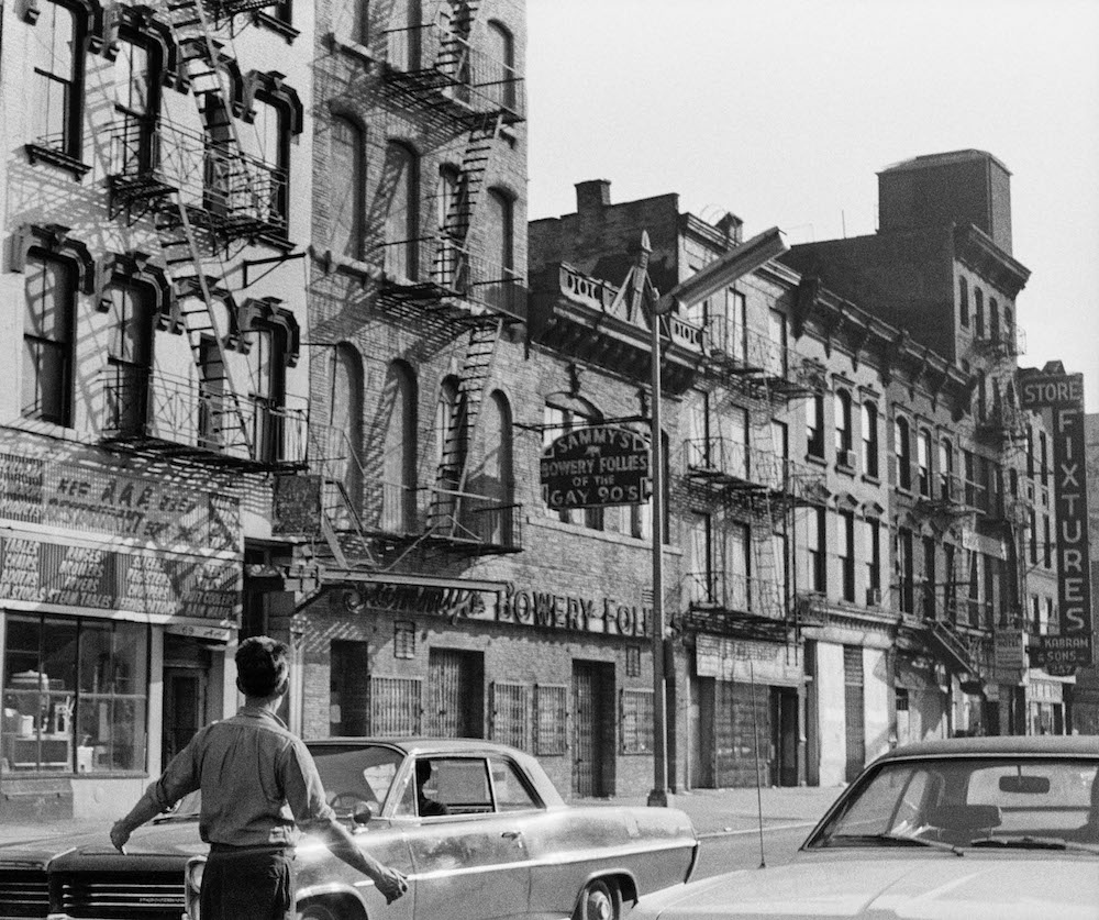on the bowery new york city 1971 by edward grazda review