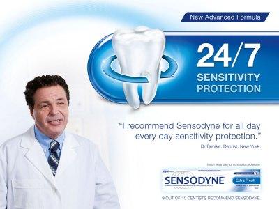 Sensodyne Dentist