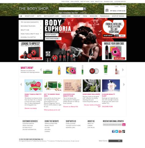 home page bodyshop valentines