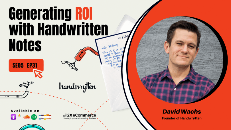 Leveling Up 1-1 eCommerce Personalization with Handwritten Notes