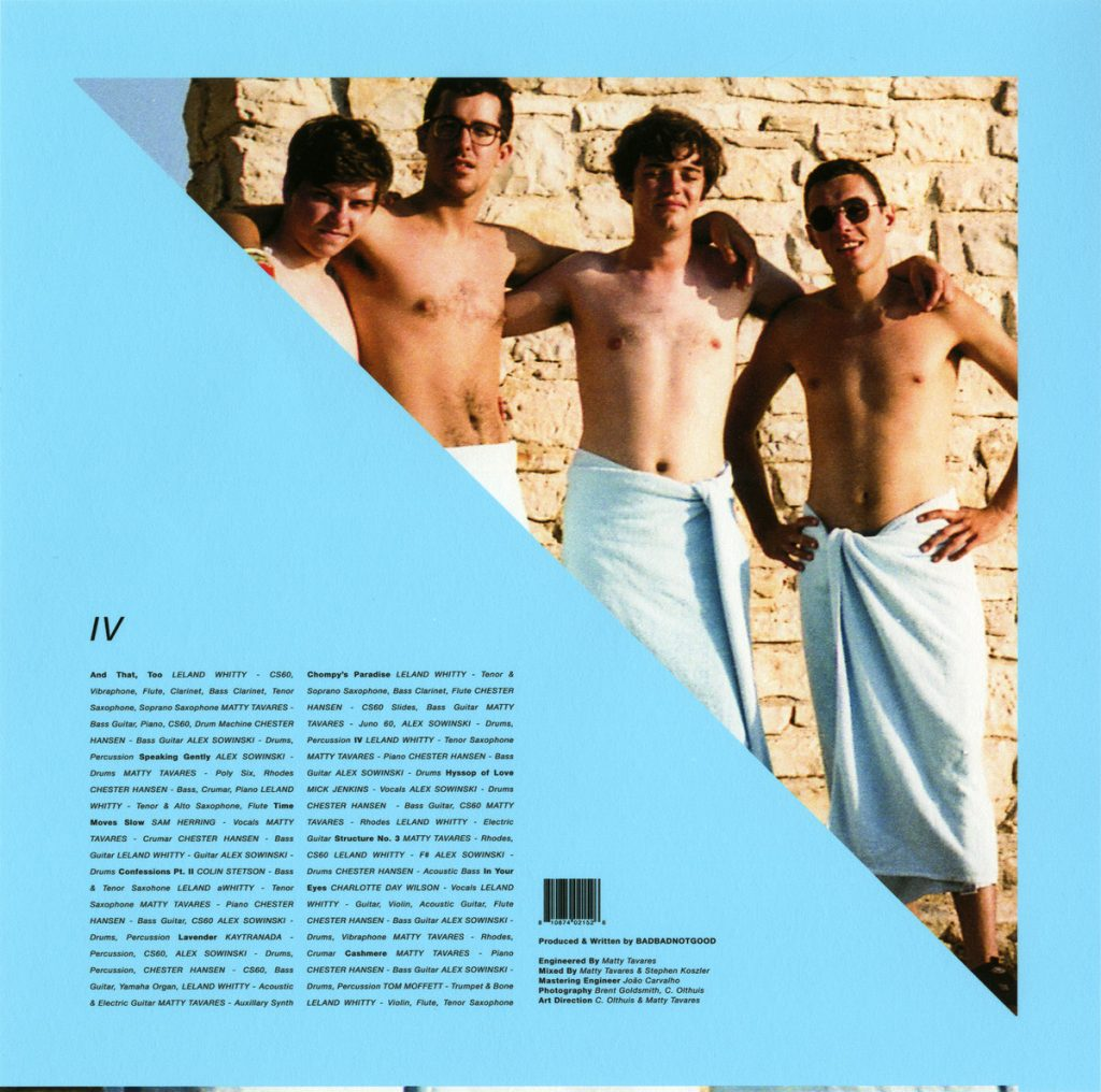 Image result for badbadnotgood iv