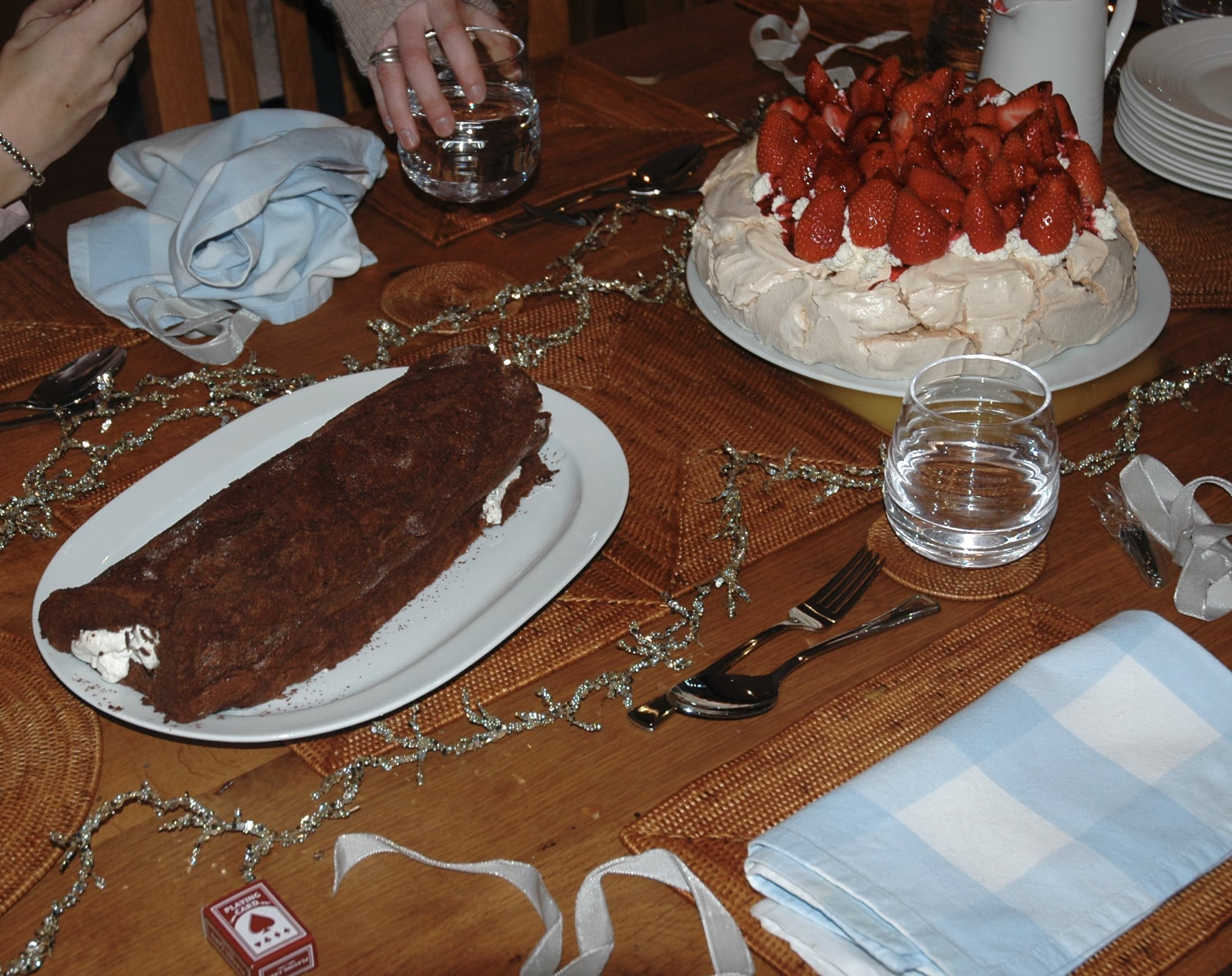 Christmas Dessert: Chocolate Roulade