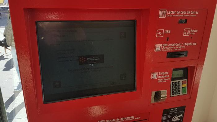 Quiosco digital de Barcelona