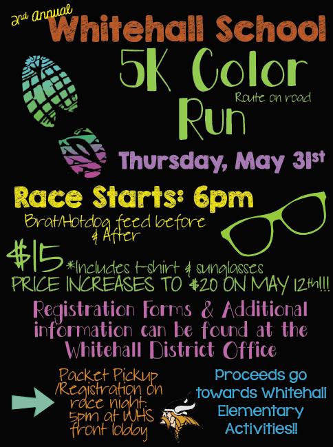 color run flyer