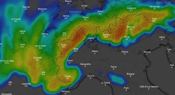 expected snowfalls 14 16 November-2