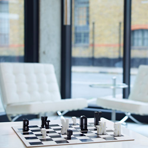type(chess)set by Hat trick Design in style fashion home furnishings Category