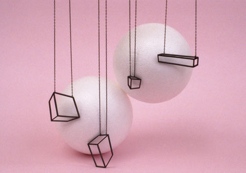 Cuboid Jewelry Collection by Shimell and Madden in style fashion Category