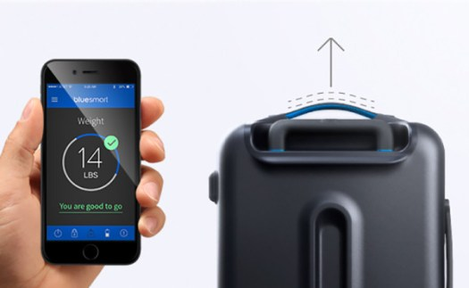 Connecting Flight: Bluesmart Smart Carry-On Luggage