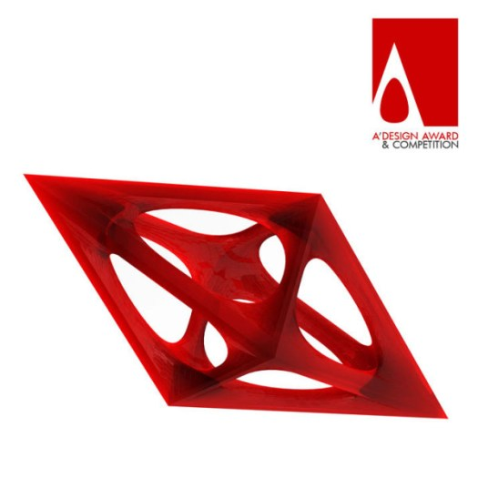 a-design-award-trophy-red