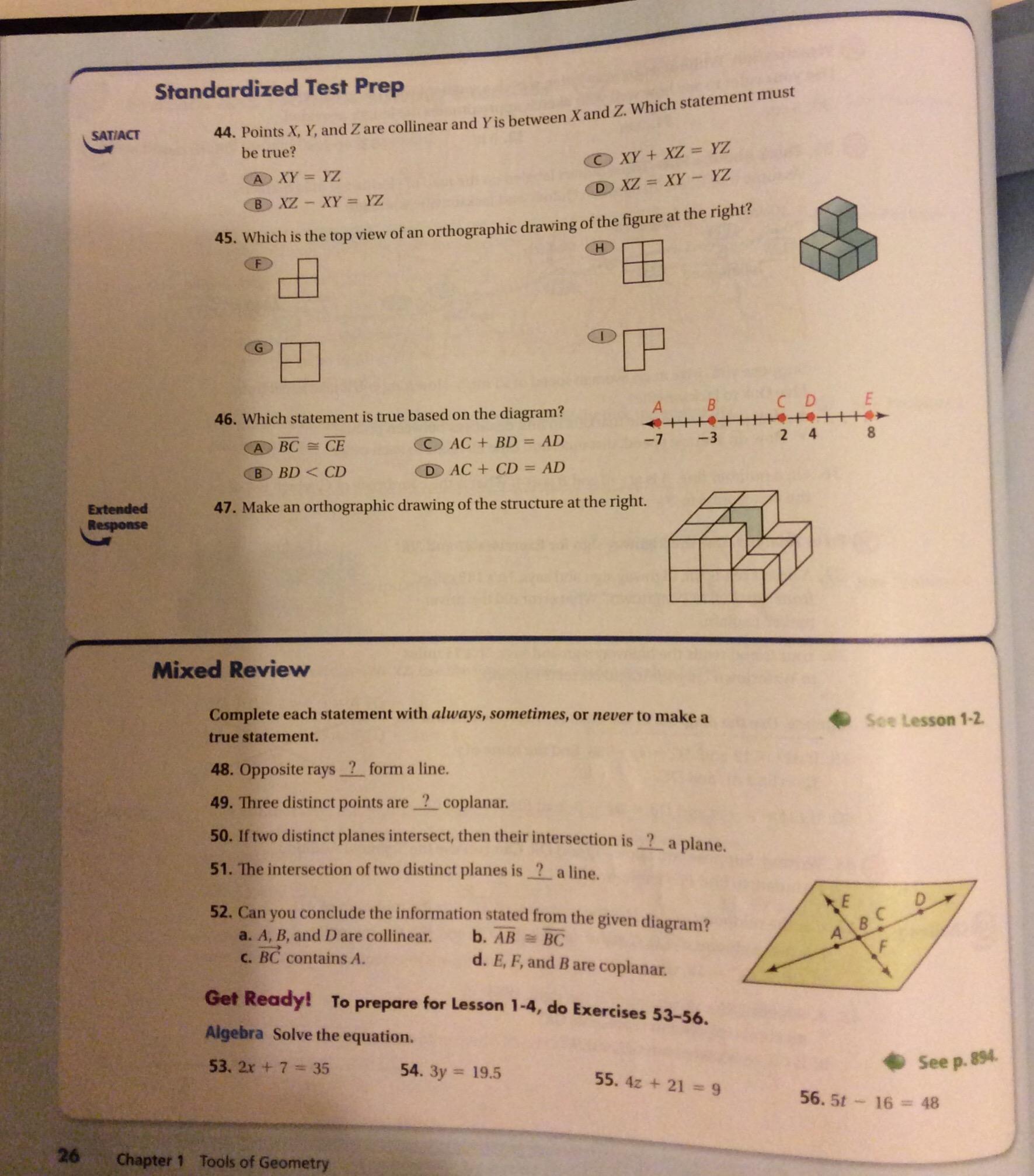 8th Grade Math Chapter 4 7 Worksheet 1