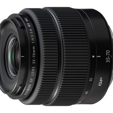 Fujifilm releases compact GF 35-70mm F4.5-5.6 WR medium-format lens