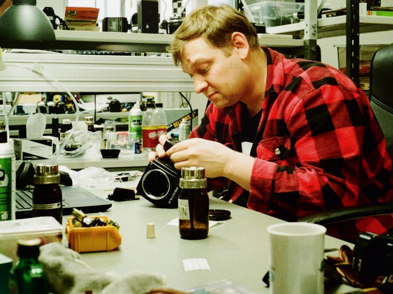 Camera Rescue opens repair school in bid to fix world's film cameras