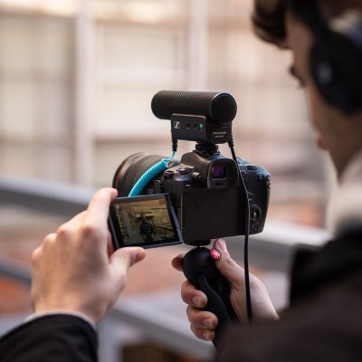 Sennheiser's new MKE 400 shotgun mic and XS Lav mics are for creatives on-the-go